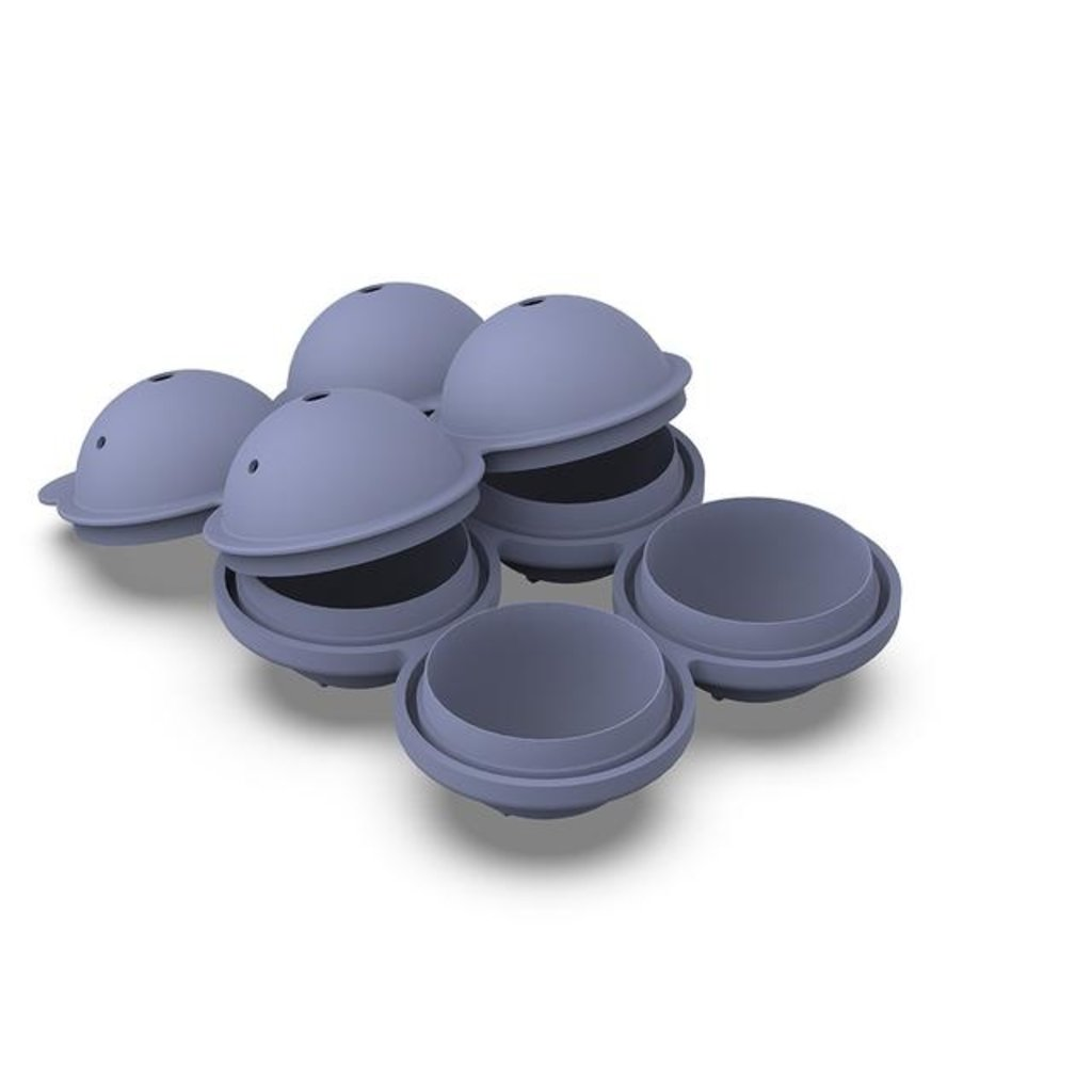 Sphere Blue Ice Tray