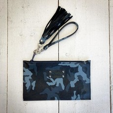 Ma & Pembum Leather Wristlet