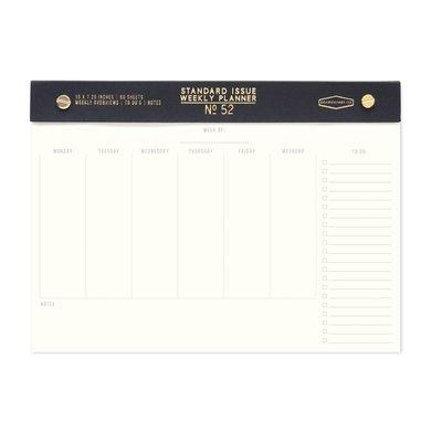 Standard Issue Weekly Planner