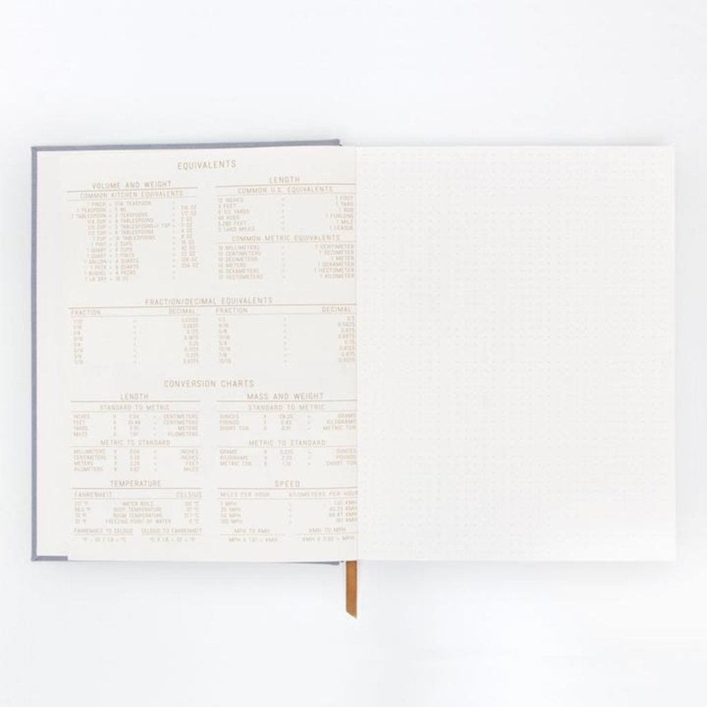Slate Cloth Hardcover Journal