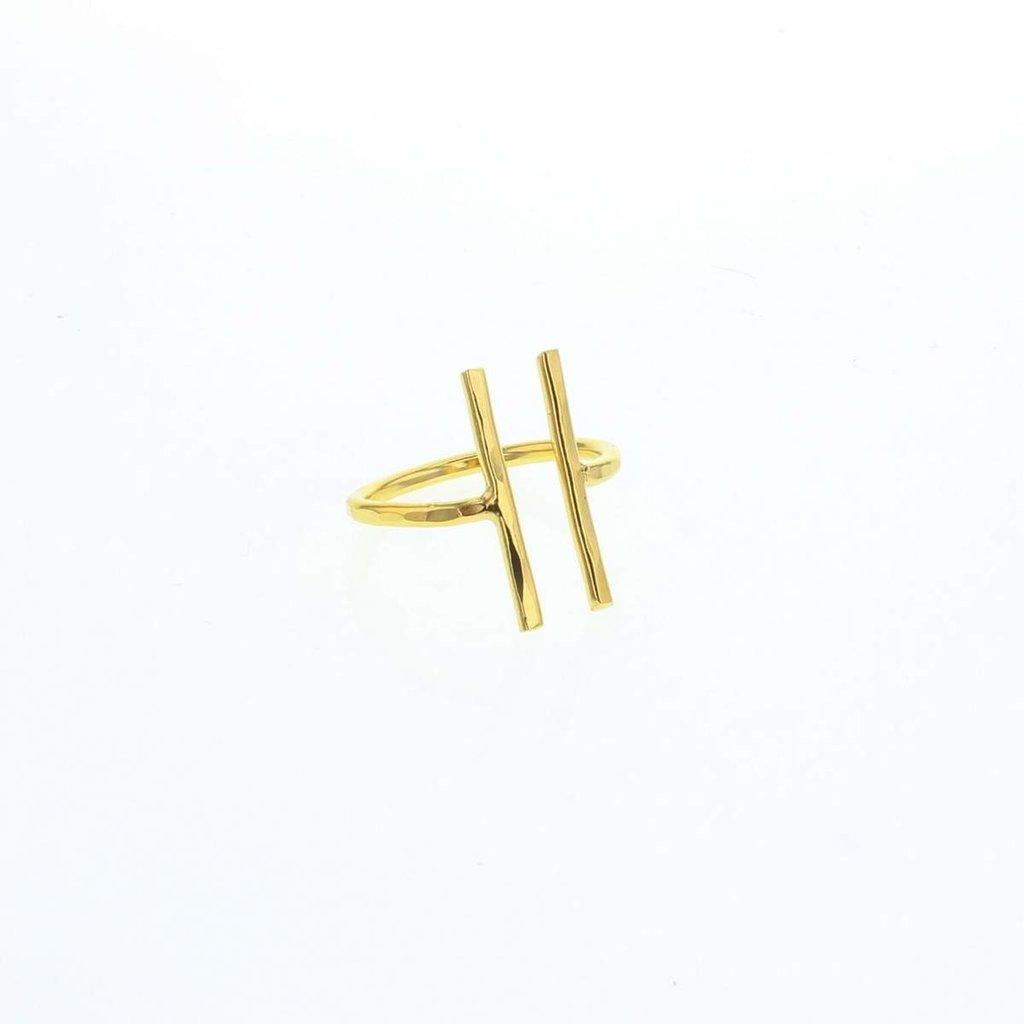Slate Keya Ring - One Size