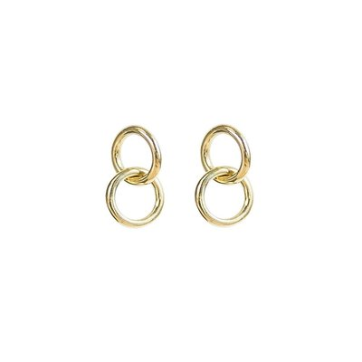 Slate Kumi Mini Hoop Stud Earrings