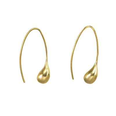 Slate Dash Threader Earrings