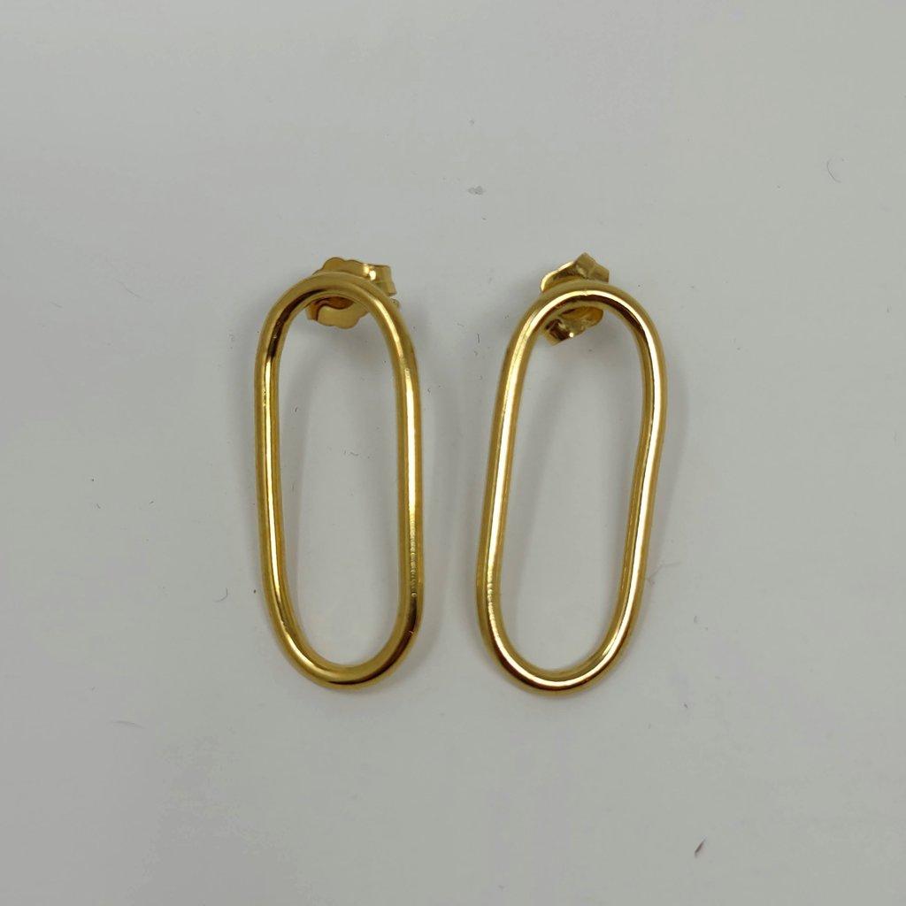 Circuit Stud Earrings