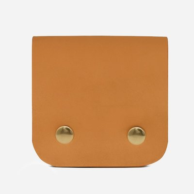 Minor History Square Leather Wallet
