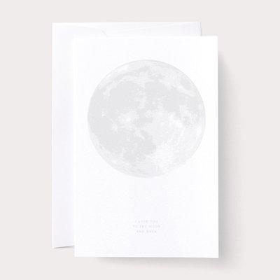 Noat Love Moon Card