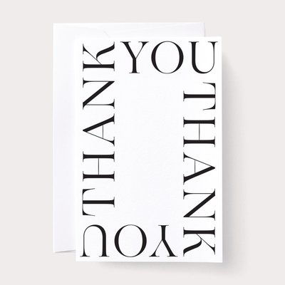 Noat Thank You Card