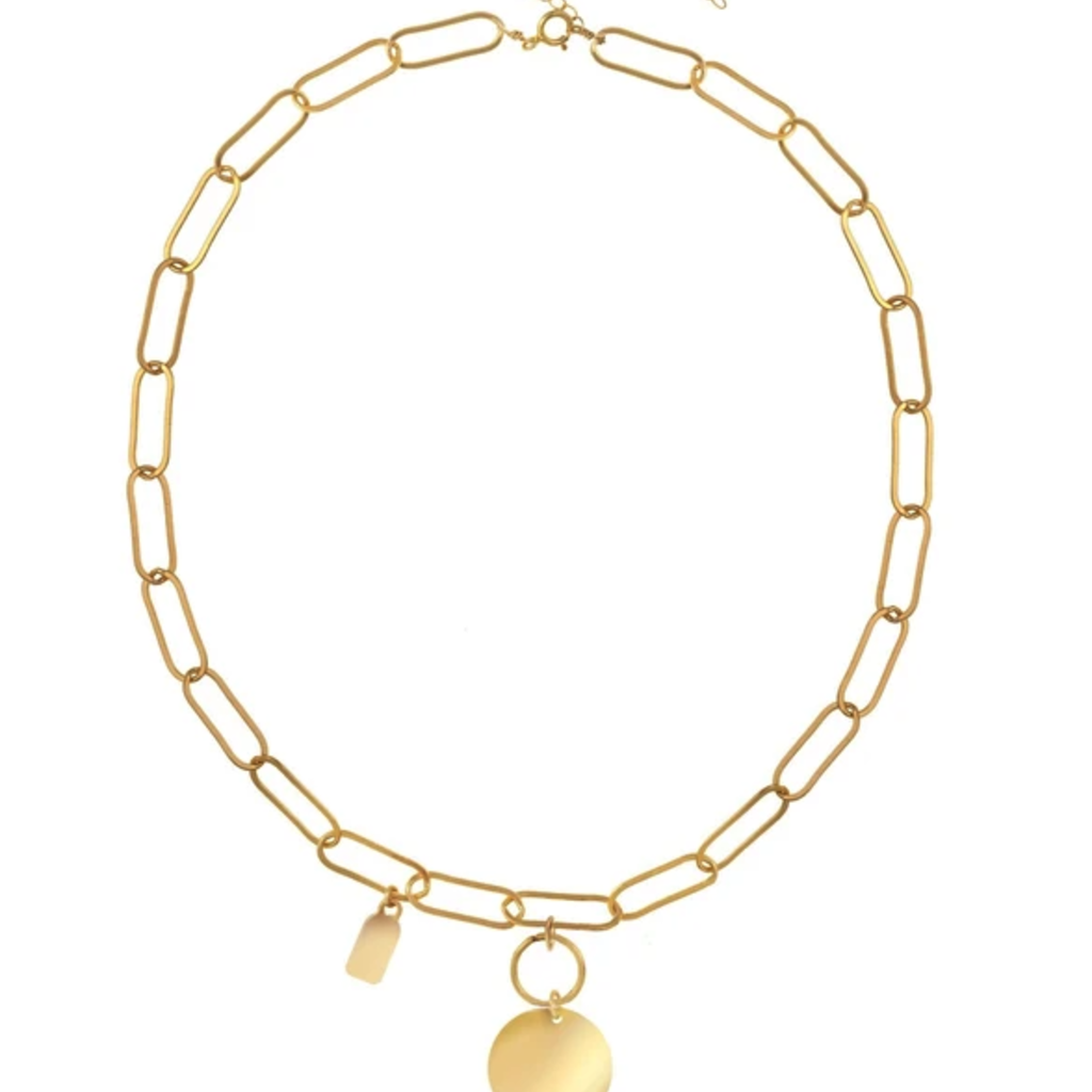 Scarlett Gold Necklace