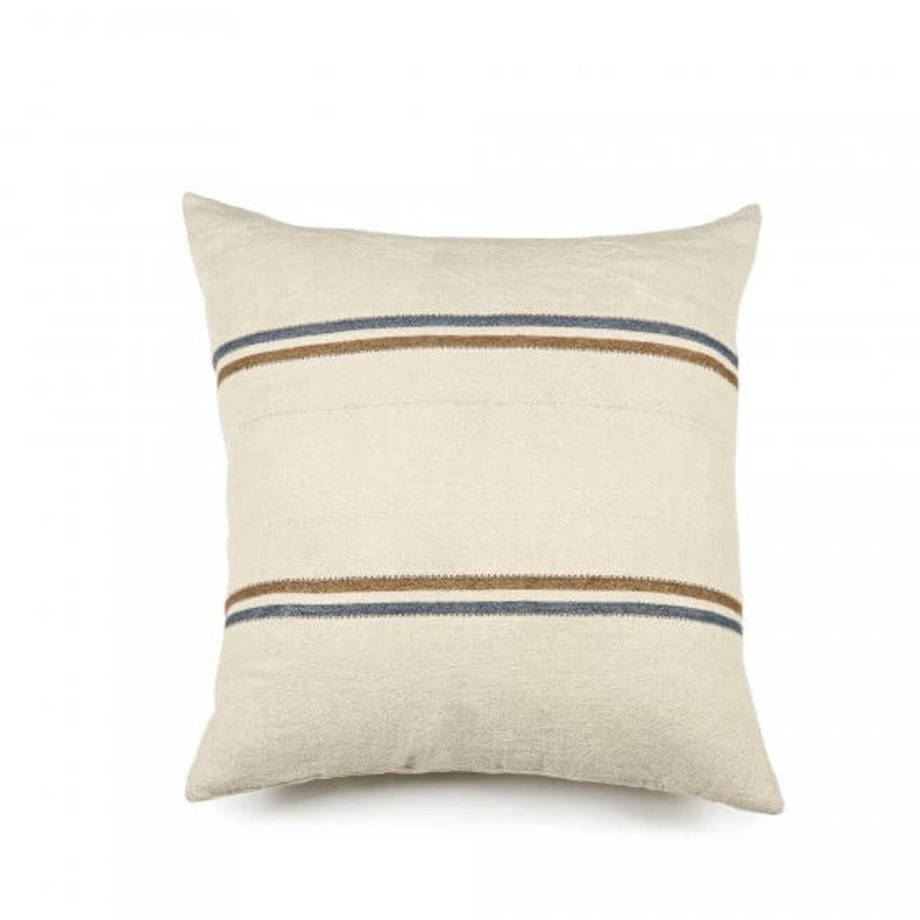 "Libeco Libeco Auburn Stripe 25"" Pillow"