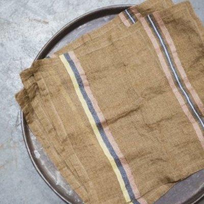 Libeco Virginia Stripe Linen Napkin