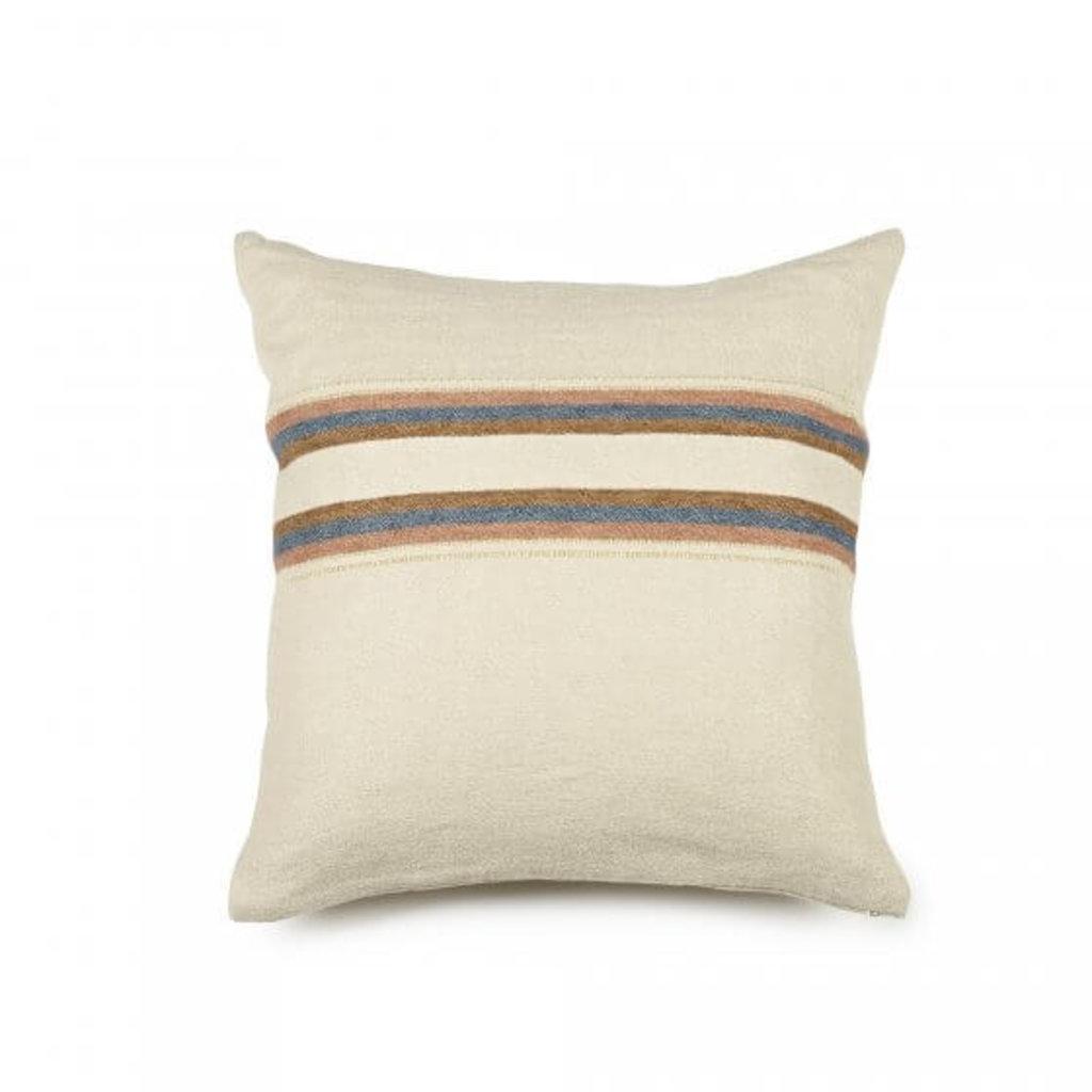 "Libeco Harlan Stripe 20"" Pillow"