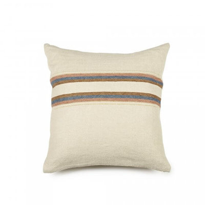 "Libeco Harlan Stripe 20"" Pillow"