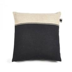 """Libeco Libeco Marshall Black Flax 25"""" Pillow"""