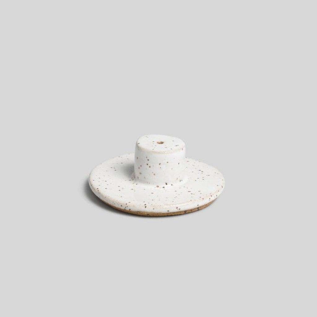 White Ceramic Incense Burner