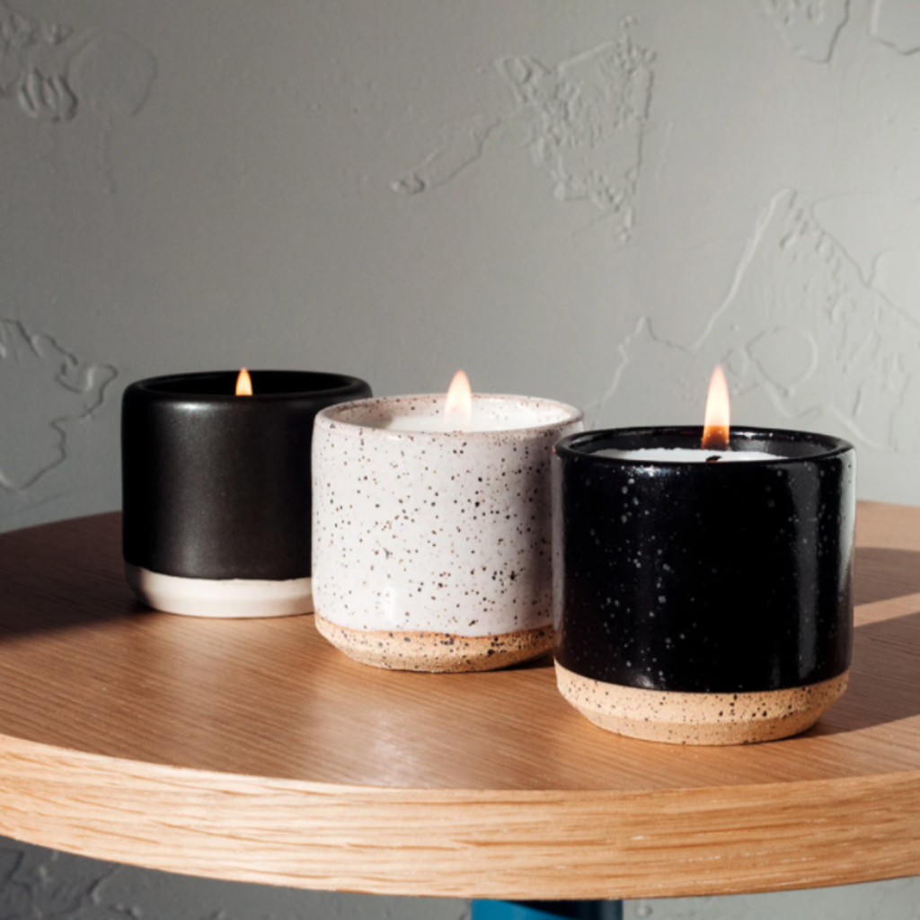 Slate 5 oz. Ceramic Candle Set