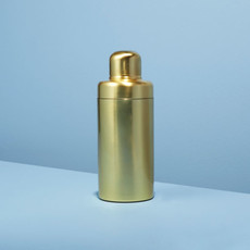 Matte Gold Cocktail Shaker