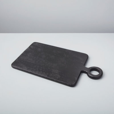 Slate Black Mango Wood Mini Rectangular Board