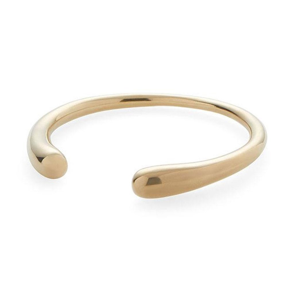 Slate Delicate Dash Cuff Bracelet