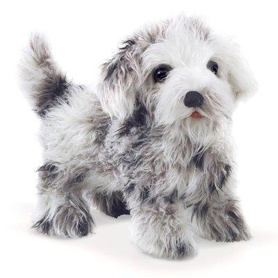 Slate Shih Tzu Puppy Puppet