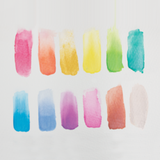 Watercolor Paint Pearlescent (Set of 12)