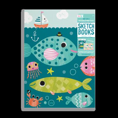 Slate Doodle Sketchbook (Set of 2)