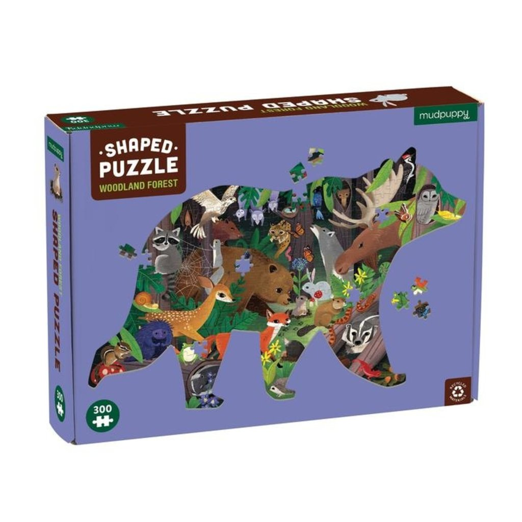 Woodland Forest 300 Piece Puzzle