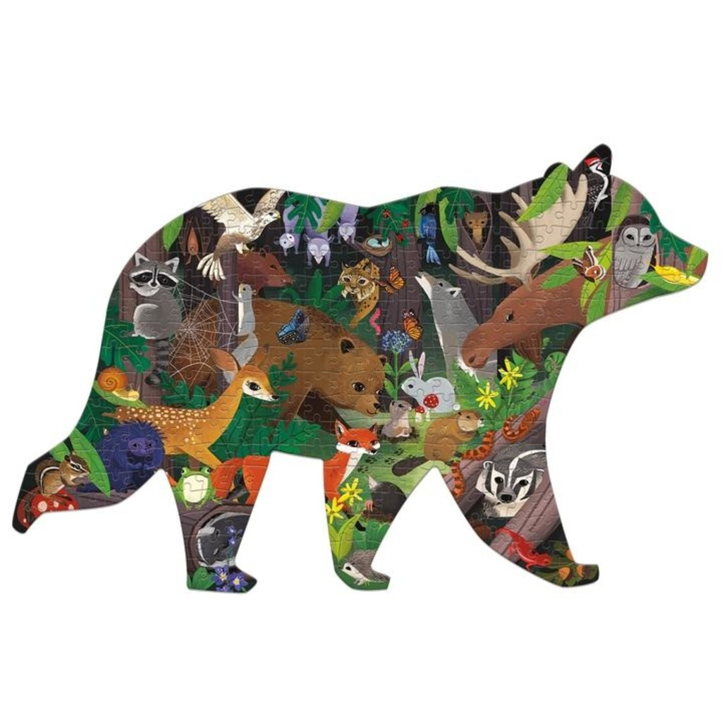 Slate Woodland Forest 300 Piece Puzzle