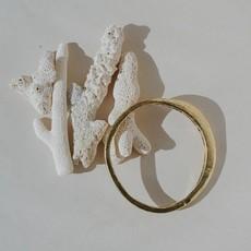 Full Moon Brass Bracelet
