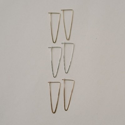Slate Peak Hoop Earrings