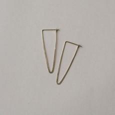 Slate Peak Hoop Earrings