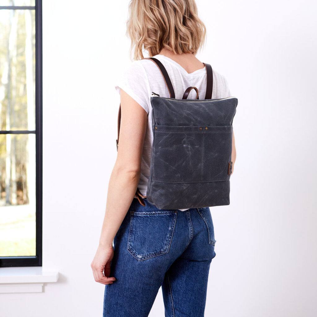 Red House Red House Day Pack - Waxed Canvas