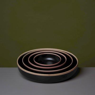 Middle Kingdom Hermit Bowl Semi-Matte Black