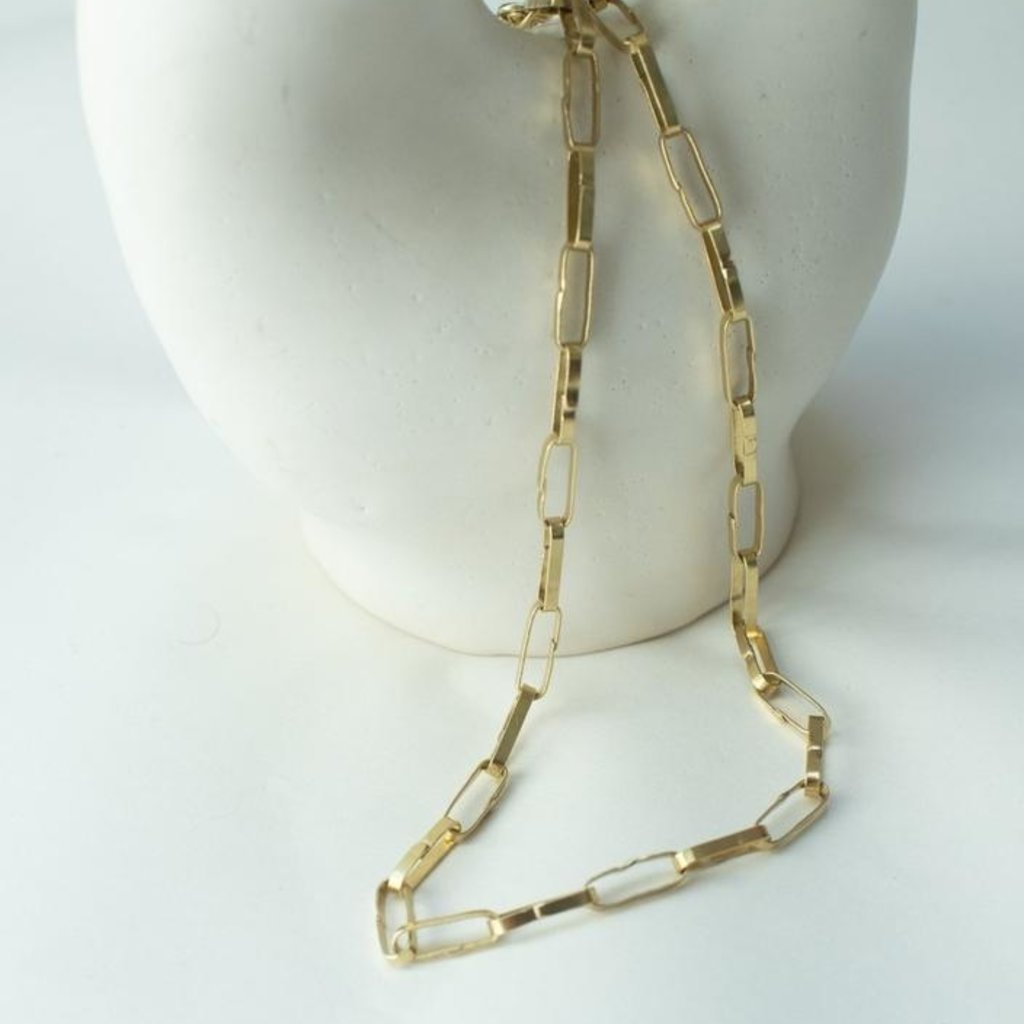 Paper Chain Necklace
