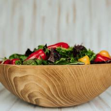 Handmade Beech Salad Bowl