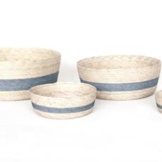 Color Stripe Round Basket