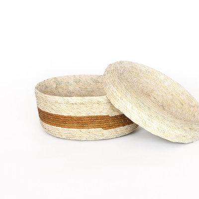 Slate Tortilla Basket With Lid