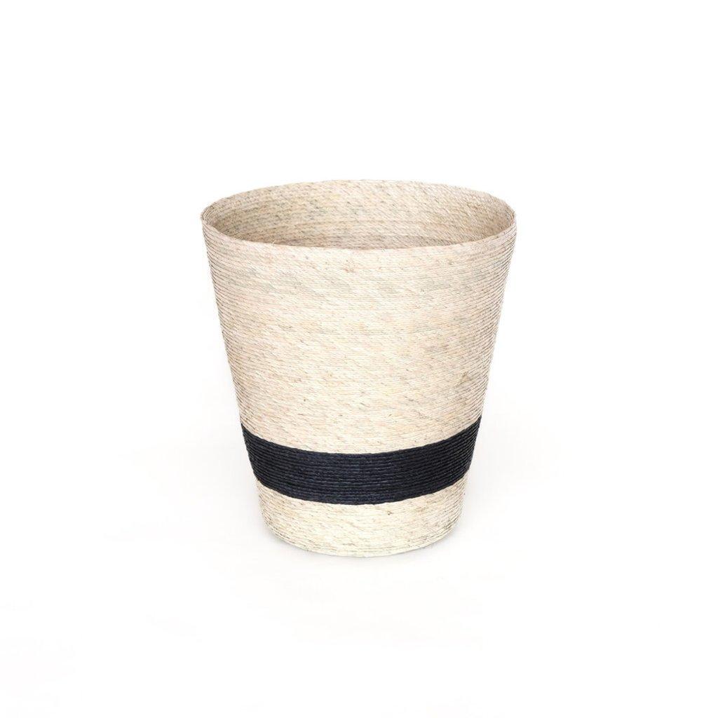 Conical Basket Natural/Stripe