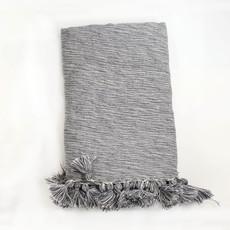 Lightweight Grey Wool Throw