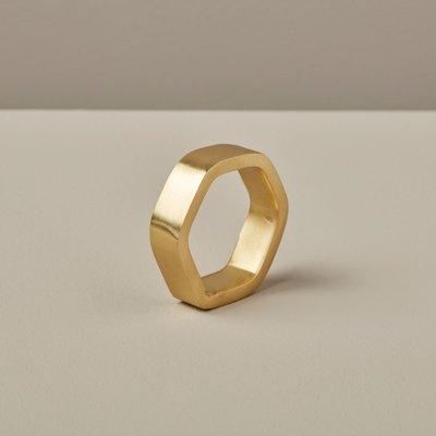 Slate Hexagon Napkin Ring