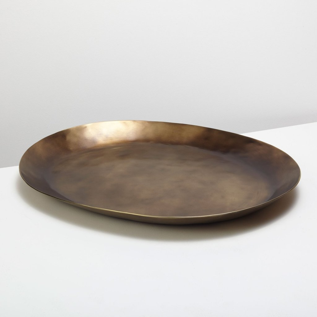 Antique Bronze Platter