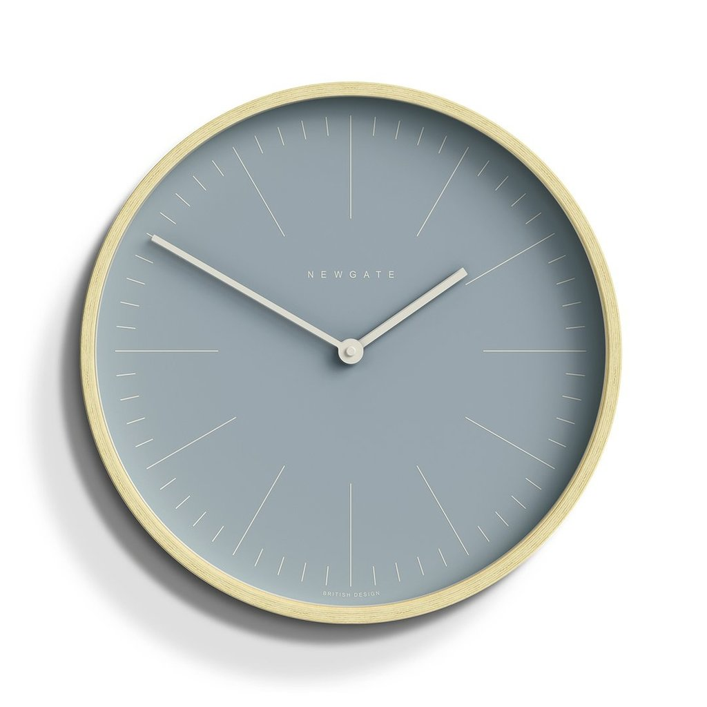 Newgate Newgate Mr Clarke Blue Wall Clock