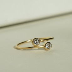 Slate Dos Dia Ring