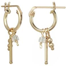 Misty Hoop Earrings
