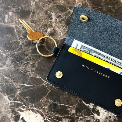 Minor History 'The Snaps' Keychain Wallet