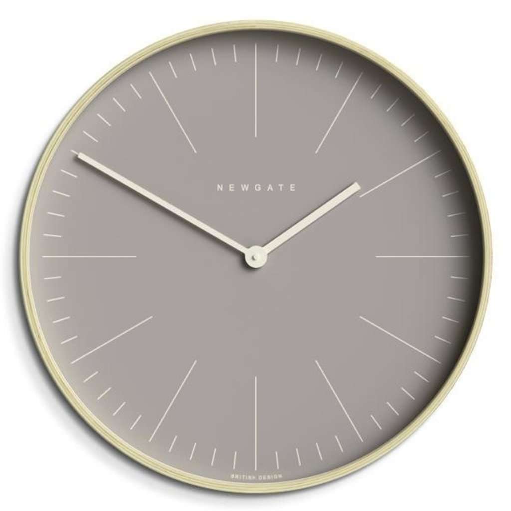 Newgate Newgate Mr Clarke Grey Wall Clock