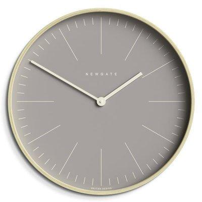 Newgate Mr Clarke Grey Wall Clock