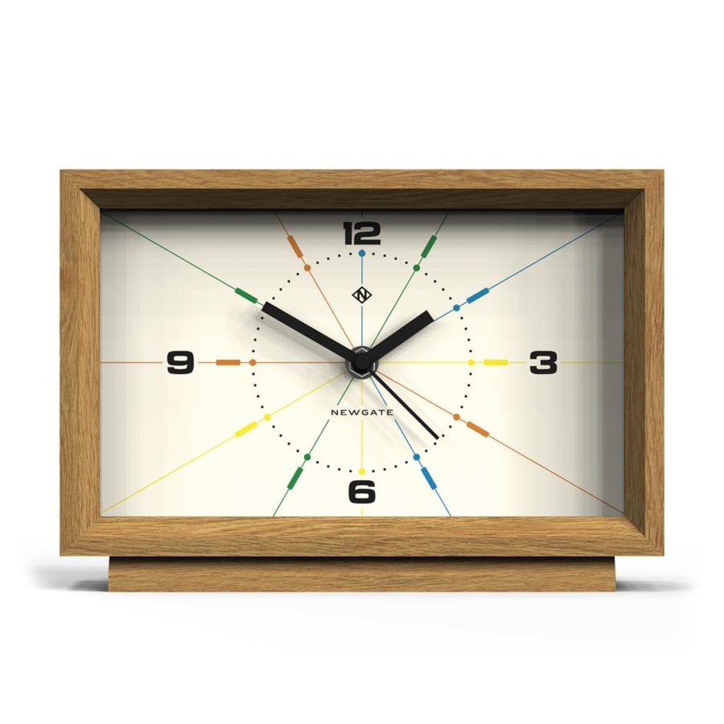 Newgate Newgate Modern Wood Mantel Clock