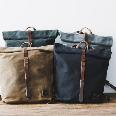 Red House Ruck Sack - Waxed Canvas