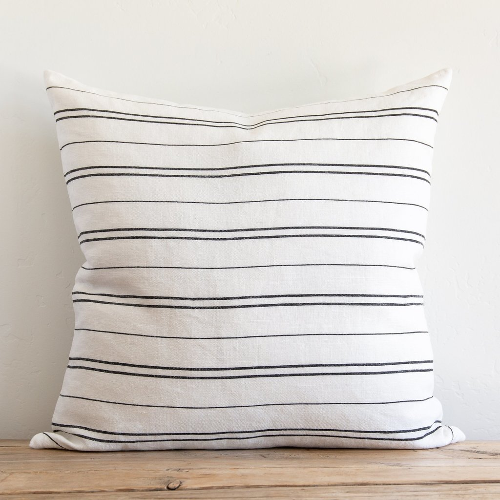 """Hudson Stripe 26"""" Pillow"""