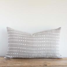 Belmont Grey Lumbar Pillow